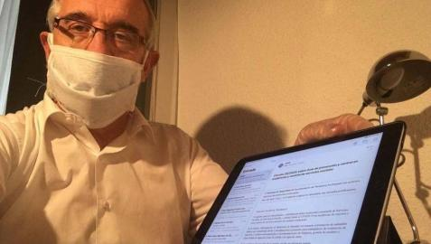 El alcalde de Pamplona sigue ingresado por coronavirus
