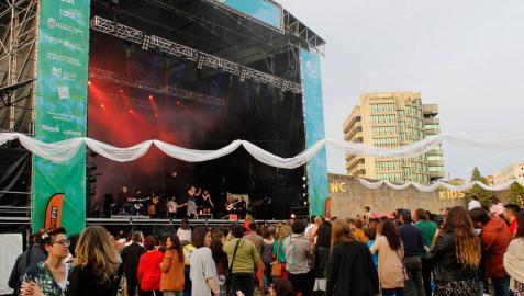 Uno de los conciertos del Turmalina Fest de 2019