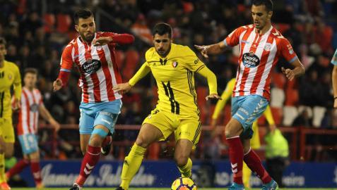 En directo: sigue la narración minuto a minuto del Lugo-Osasuna