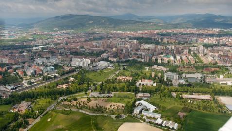 Campus de Pamplona de la Universidad de Navarra.