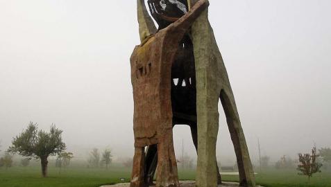 I-E pide que el Parque de la Memoria de Sartaguda en el catálogo turístico