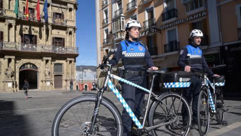 La Policía Municipal pone en marcha un equipo de patrulla en bicicleta con ocho agentes
