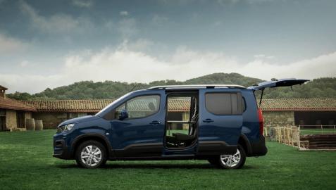 Fotos de la gama camper de Peugeot