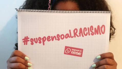 Campaña contra el racismo en las aulas.