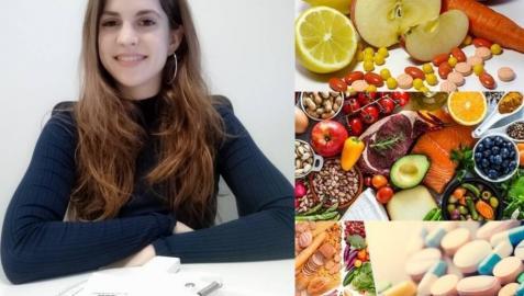 María Jáuregui López, Graduada en el doble grado de Farmacia + Nutrición Humana y Dietética en la Universidad de Navarra.