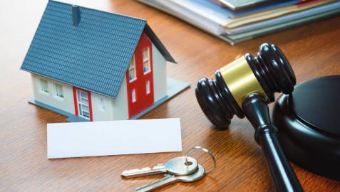 Las subastas inmobiliarias son una manera de encontrar casa.