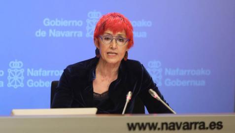 La consejera de Salud del Gobierno de Navarra, Santos Induráin.