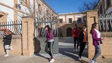 Día a día en la Escuela de Arte y Superior de Diseño de Corella.