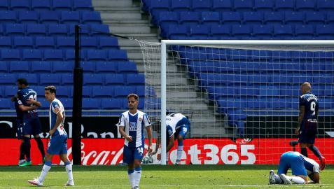 El Levante mira a la permanencia y deja tocado al Espanyol