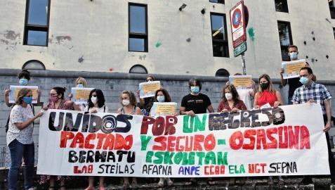 Los sindicatos piden un regreso