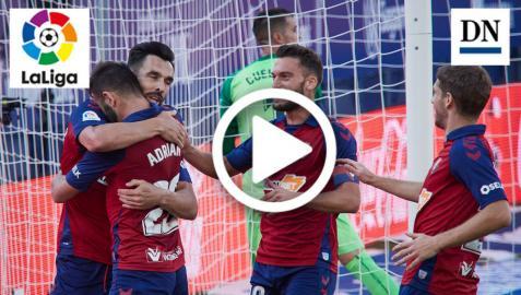 Resumen del Osasuna-Leganés: gol de Gallego (2-1)