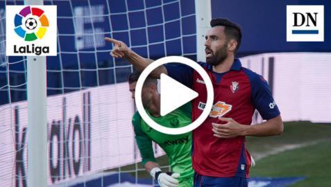 Resumen del Osasuna-Leganés: gol de Gallego (1-0)