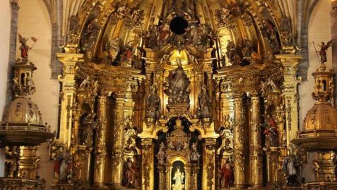 Lesaka honra a su patrón con una eucaristía en la parroquia de San Martín