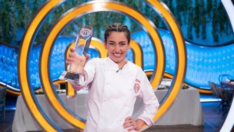 Ana Iglesias, ganadora de 'MasterChef 8'