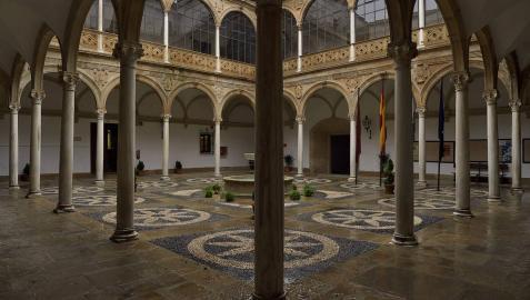 Imagen del Palacio de las Cadenas en Úbeda (Jaén)