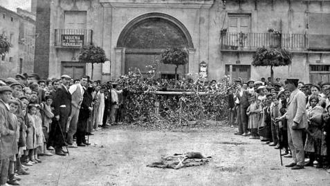 El siglo XVIII, primeras referencias de no celebrarse fiestas de Tudela