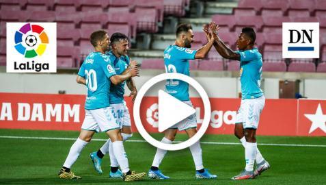 Vídeo del gol de José Arnaiz (FC Barcelona 0-1 Osasuna )