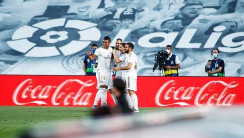 El Real Madrid se hace con el título de Liga