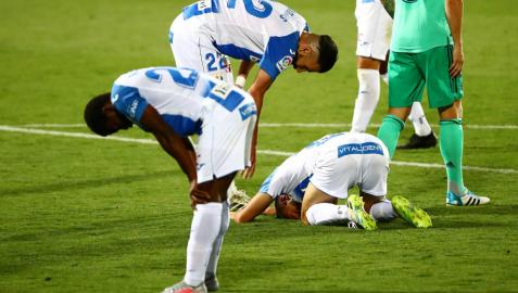 El Leganés da la cara ante el Real Madrid pero no evita el descenso