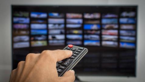 Imagen de una smart TV