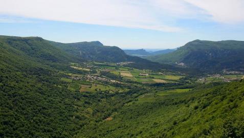 El Balcón de Pilatos, mirador en el borde sur del Parque Natural de Urbasa-Andía.
