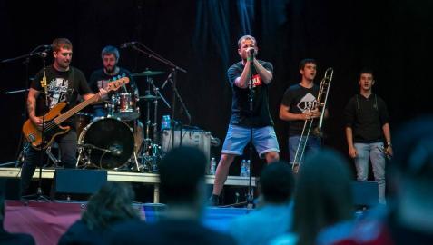 718 personas asistieron a la III edición del Musika en marcha Fest