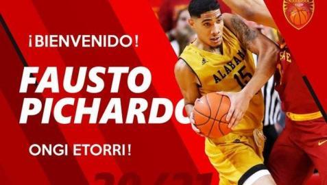 El dominicano Fausto Pichardo llega a Basket Navarra