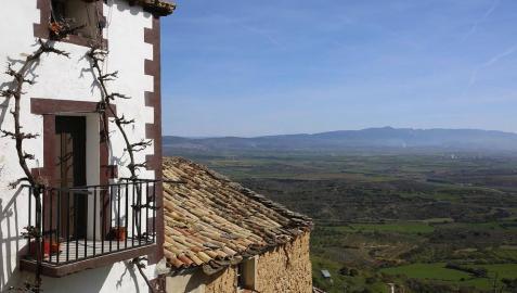 Imágenes del rodaje de la película 'El hombre que mató a Don Quijote' en Gallipienzo.