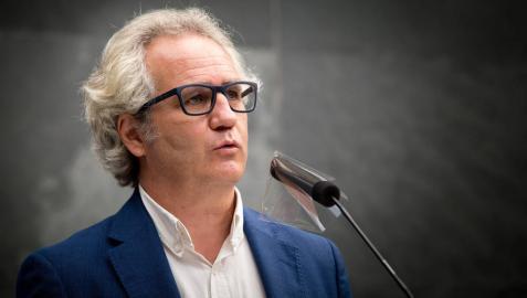 El parlamentario de Navarra Suma Carlos Pérez-Nievas.