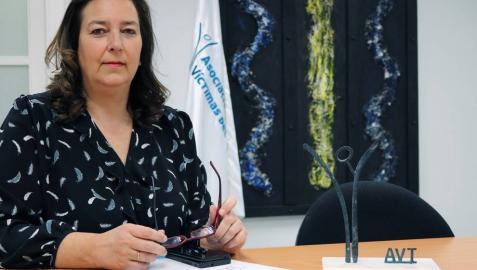 Maite Araluce, nueva presidenta de la AVT: