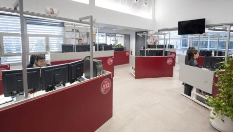 Sala 112 de SOS Navarra