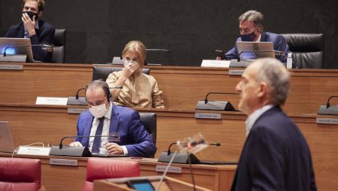 El Parlamento foral pide un paquete de medidas para asegurar la conciliación