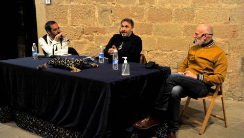 Poesía y narrativa de la mano de Carlos Zanón y Alejandro Palomas