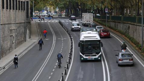 Las diez nuevas obligaciones para las bicicletas en Pamplona