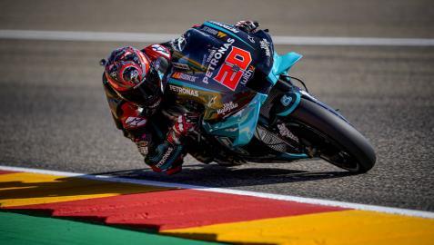 Quartararo, del hospital a la pole en MotoGP