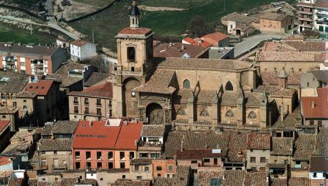 Vista aérea de Viana.