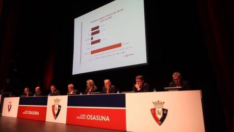 Sigue en directo la Asamblea Extraordinaria de Osasuna sobre la reforma de El Sadar