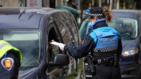 La Policía Municipal de Pamplona detiene a tres personas en las últimas dos semanas