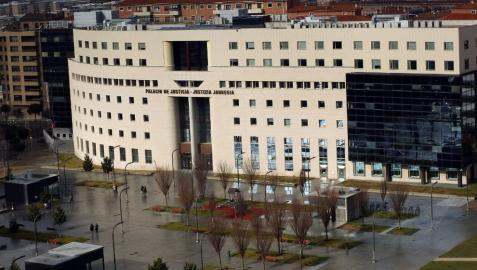 La Audiencia Territorial de Navarra, donde el juez Fermín Otamendi instruye el 'Caso Osasuna'.