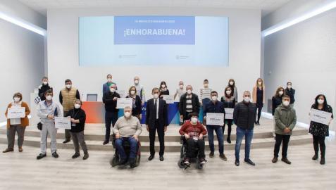 VW Navarra reparte 24.000 euros entre 8 programas sociales