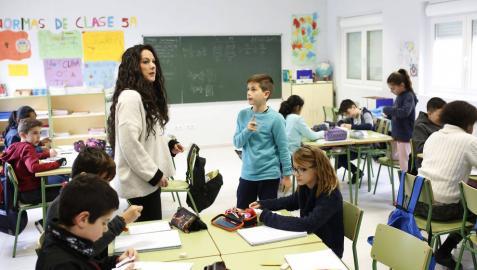 El guiño del colegio Mendialdea I   a las familias y a la inclusión en el aula