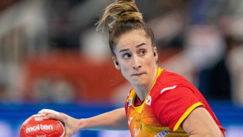 Nerea Pena, jugadora de la selección española de balonmano.