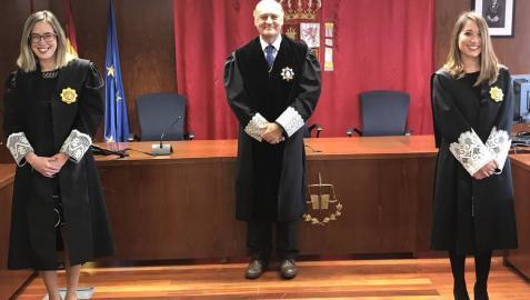 Ascienden a magistradas dos juezas destinadas en Tudela y Tafalla