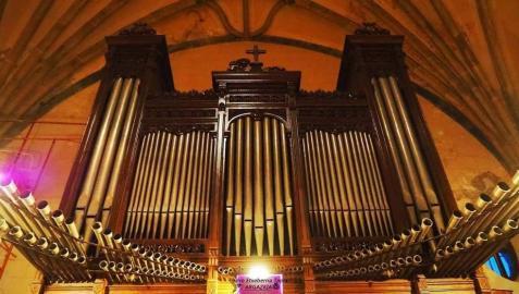 El órgano de Lesaka precisa de una restauración después de 70 años