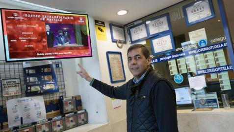La lotería de Navidad deja en Navarra un