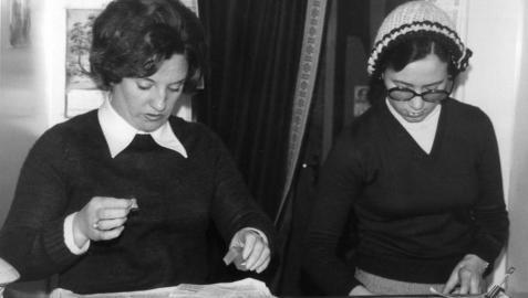 Año 1974: El Gordo deja millones en la capital navarra