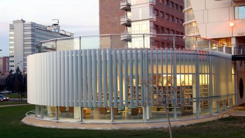 Yamaguchi, la biblioteca municipal con más usuarios en Pamplona