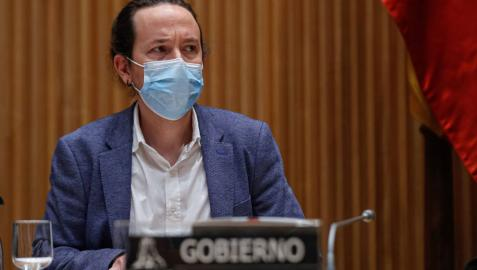 Iglesias anuncia que el decreto para prohibir los desahucios estará en dos semanas