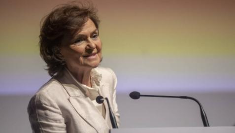 Carmen Calvo, en los 'Encuentros SER Andalucía'.