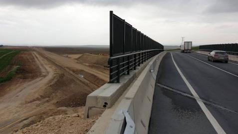 Cohesión Territorial abre el nuevo puente sobre el TAP a su paso por Falces
